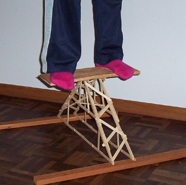 Building a Popsicle-Stick Bridge